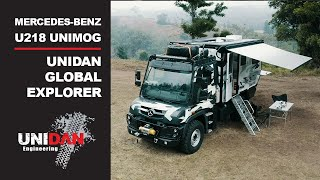 2020 UNIDAN Global Explorer - U218 UGE Unimog Expedition Vehicle