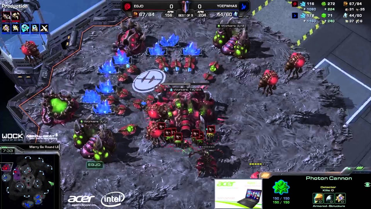JaeDong vs. Has - EG vs. FlashWolves - Game 1 - StarCraft 2
