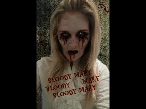 Bloody Mary Makeup Tutorial (2015 Halloween Series) - YouTube
