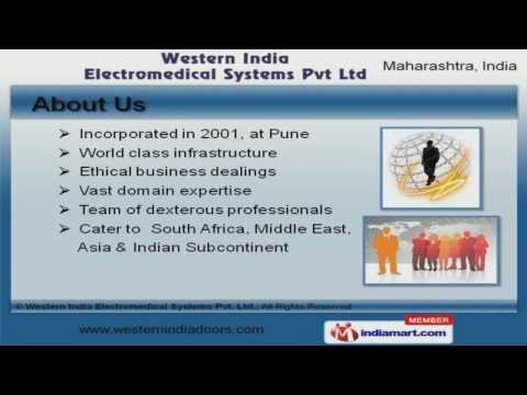 Industrial Steel Doors By Western India Electromedical Systems Pvt Ltd, Pune