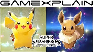 Partner Pikachu & Eevee Spirits Now Available in Smash Bros. Ultimate!