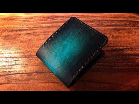【Making】Bi-fold Wallet【Leather craft】