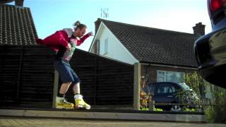 Inline Skate Grind Box - Summer Switch Ups Uk 2013