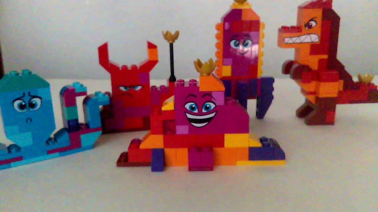 43b1657d33a Lego movie 2 queen watevra's build whatever box review - YouTube