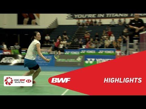 YONEX US Open 2019 | Semifinals WS Highlights | BWF 2019