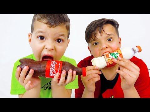 Егорка и Ярик история про шоколад