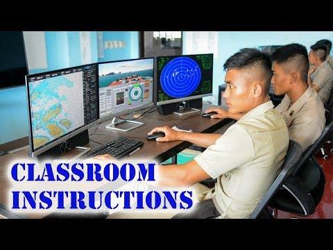 Classroom Instructions | Cadets of Philippine Merchant Marine Academy