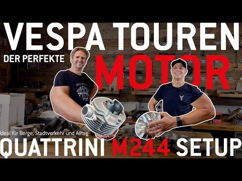 Bester Vespa Touren Motor | QUATTRINI M-244 Setup 🛵🔧  Für Alltag, Berge, Stadtverkehr deutsch