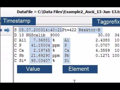 OSIsoft: PI UFL: Import a complex, multi format data file with UFLDesigner