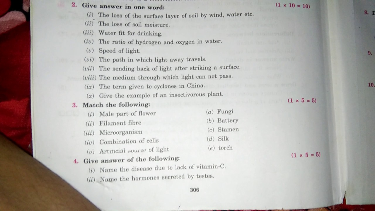 Cbse class 7 annual sample papers