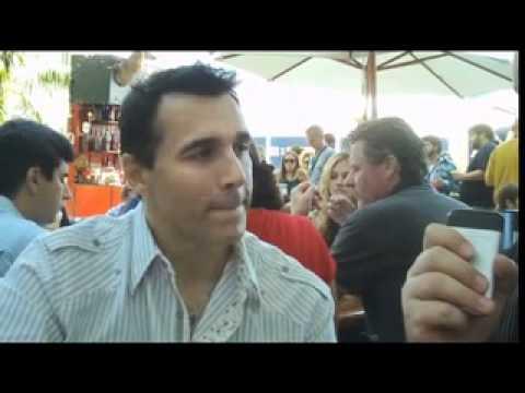 HIGHLANDER: THE SERIES star Adrian Paul  at San Diego ComicCon 2011