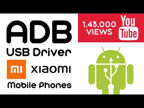 How To Free Download Xiaomi USB Drivers all models.