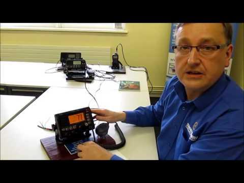 Routine voice call using a Marine VHF DSC radio