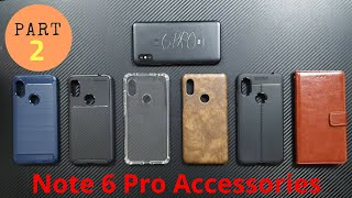 [Hindi] Redmi Note 6 Pro Accessories (Back Case & Cover, Skins, Scratch Protector)