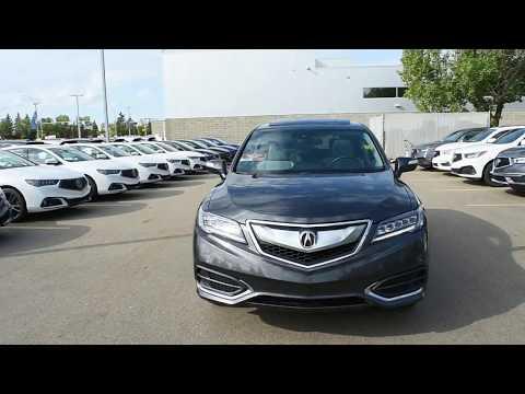 2016 Acura RDX AWD Technology Walk Around Review | West Side Acura in Edmonton Alberta