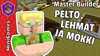 Ruoaksi voileipää! | Minecraft Minipelit Master Builder
