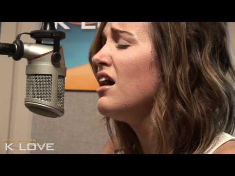 "K-LOVE - Britt Nicole ""Walk On The Water"" LIVE"