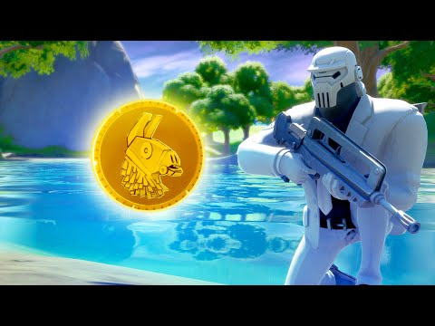 Mysterious GOLD COIN In Weeping Woods (Fortnite Secrets)