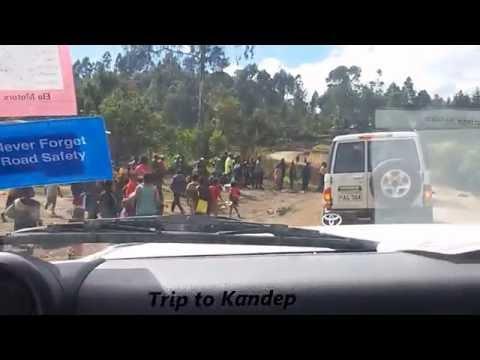 Road Trip in Enga Province, PAPUA NEW GUINEA