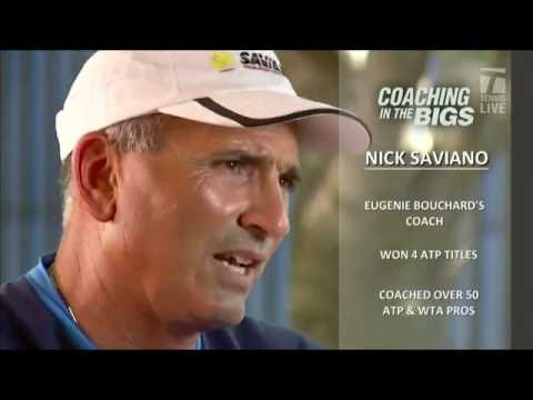 US Open Interview with Genie Bouchard's Coach Nick Saviano
