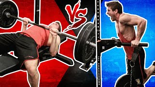 Close-Grip Bench Press VERSUS (Weighted) Dips | WHICH BUILDS BIGGER TRICEPS FASTER?