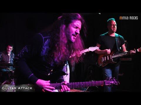 """1. Guitar Attack mit Victor Smolski, Björn Müller & Ralf Fiebelkorn  """"Going Down"""" + """"Superstition"""""""