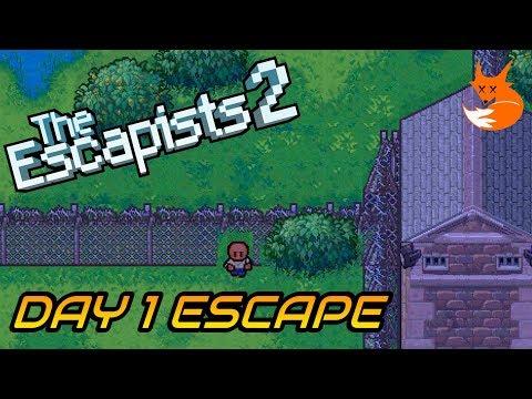 CENTER PERKS 2.0 DAY 1 ESCAPE (Perimeter Breakout) | The Escapists 2 [Xbox One]