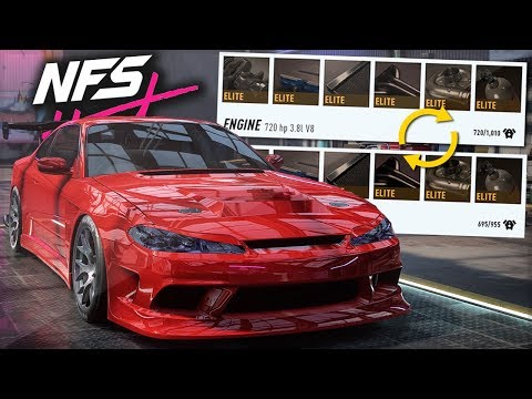 Need for Speed Heat I Maxed Out S15 Silvia 1000+ Build I Engine Swaps & Top Speeds [2K]