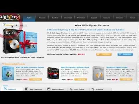 REVIEW: WinX DVD Ripper for Mac/Windows