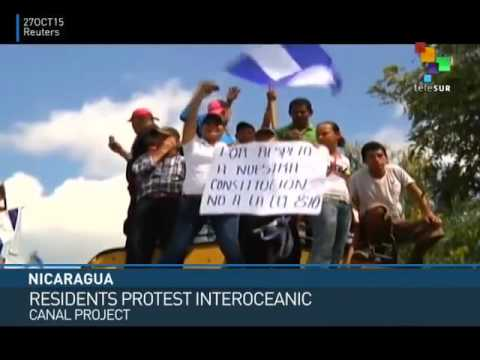 Nicaragua: Protesters Reject Inter-Oceanic Canal
