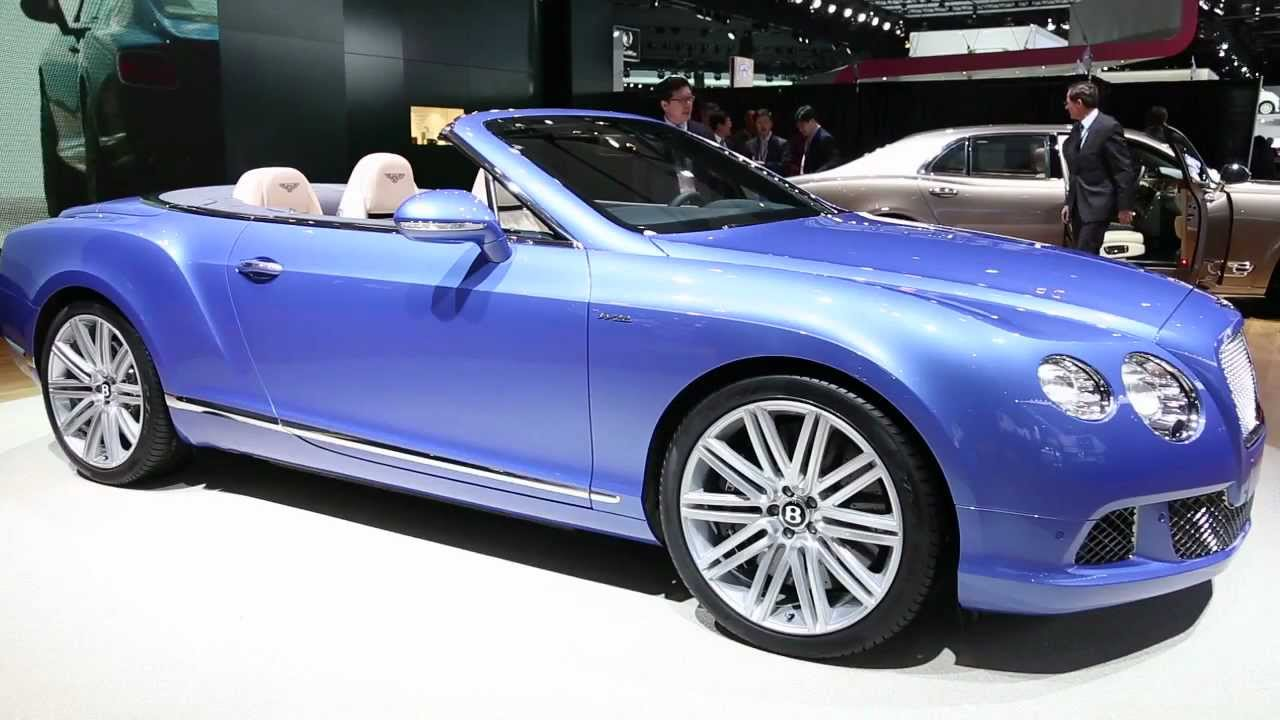 2013 bentley continental gt speed convertible preview youtube 2013 bentley continental gt speed convertible preview vanachro Choice Image