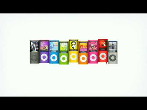 New apple ipod nano-chromatic ad(High Quality) song: Bruises by Chairlift