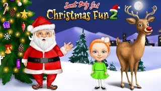 Looking Forward to Christmas! Sweet Baby Girl Christmas Fun 2 | TutoTOONS Cartoons & Games for Kids