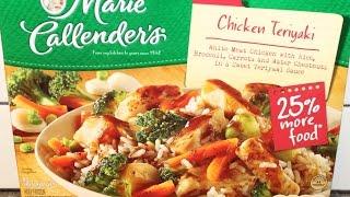Marie Callender's: Chicken Teriyaki Review