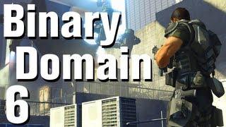 Binary Domain Walkthrough Part 6 - Weapon Scavengers