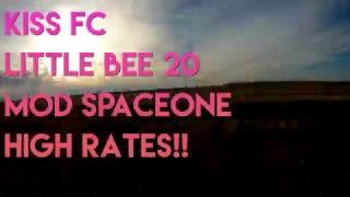 "SPACEONE 5"" KISS FC AND LITTLE BEE 20 A SAPCE ONE frame DJKARLOS FP..."