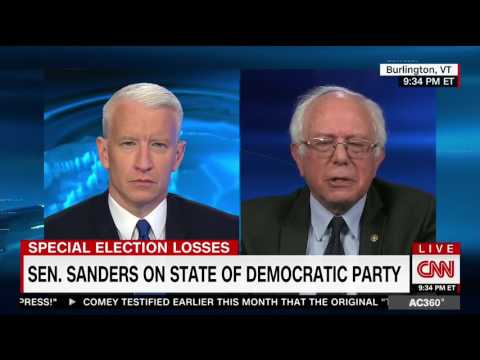 Sanders Agrees With Rep. Tim Ryan on Democrats' Brand 'Being Worse Than Trump'