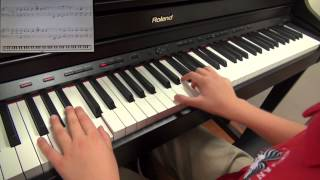 "Aidan Plays ""Steam Train Blues"" by Christopher Norton"