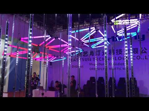 MADRIX @ EASTSUN Technology Co. Ltd. at GET show 2018, Guangzhou
