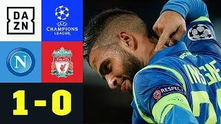 Lorenzo Insigne bringt das San Paolo zum Beben: Neapel - Liverpool 1:0 | UEFA CL | DAZN Highlights