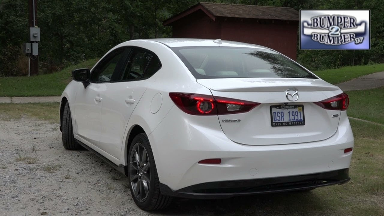 2018 mazda3 grand touring sedan youtube. Black Bedroom Furniture Sets. Home Design Ideas