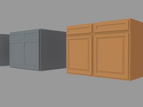 Kitchen Cabinets 3ds Max Tutorial For Beginners Modeling In