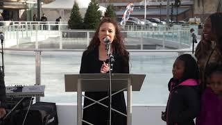 Tai Babilonia Ice Skating Press Event in Wyandanch, NY - Full Speech