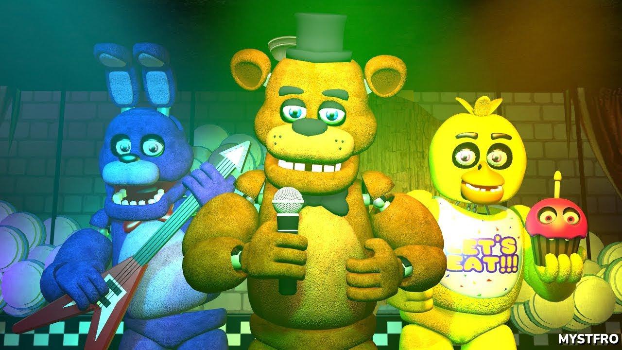 Download Five Nights at Freddy's 1, 2 & 3 Music Medley (FNAF SFM 4K)