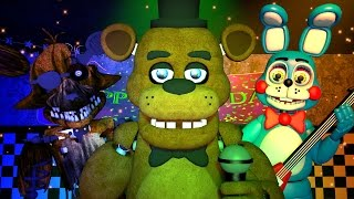 Five Nights at Freddy's 1, 2 & 3 Music (FNAF SFM 4K)