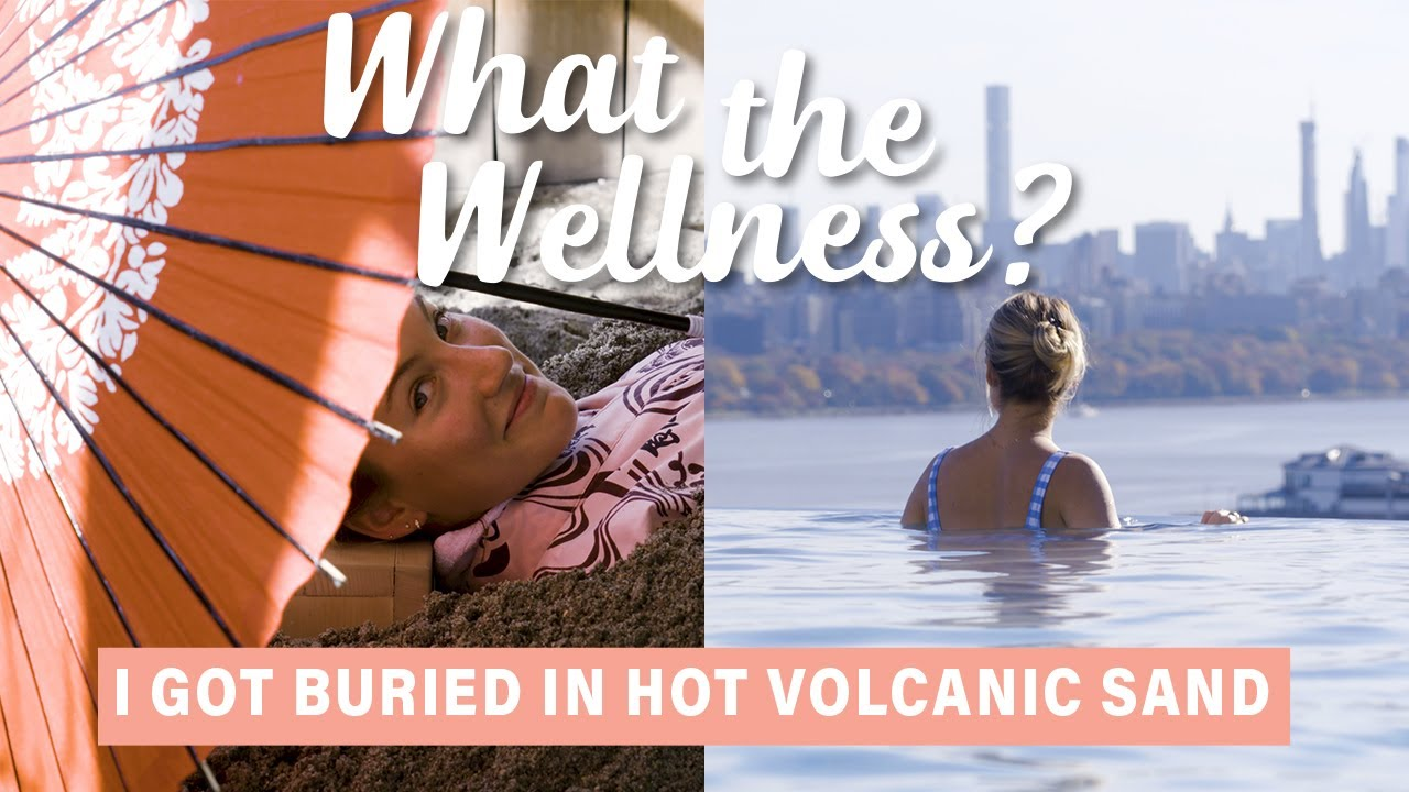 Sojo Spa Hotel Getting Buried In Hot Volcanic Sand At Sojo Spa Club What The Wellness