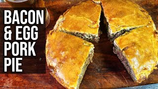 Bacon Egg Pepper Pork Pie by the BBQ Pit Boys