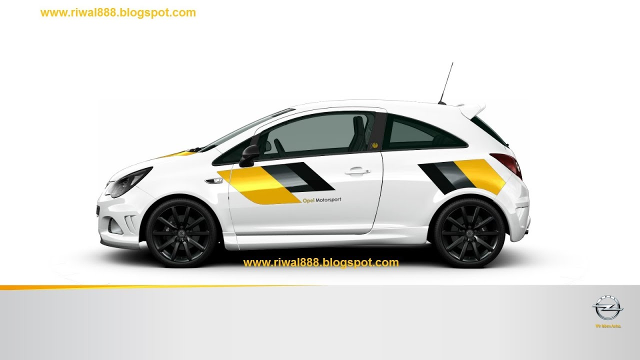 opel corsa opc n rburgring edition new motorsport. Black Bedroom Furniture Sets. Home Design Ideas