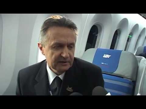 Tak wygląda Boeing 787 Dreamliner PLL LOT