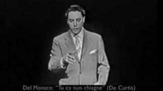 Mario del Monaco - Tu ca nun chiagne
